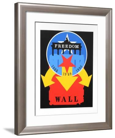 The Wall (from the American Dream Portfolio)-Robert Indiana-Framed Serigraph