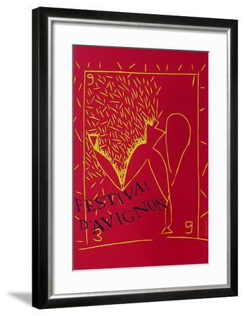 Festival d'Avignon-Aki Kuroda-Framed Collectable Print