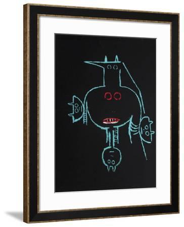 Cité Internationale des Arts-Wilfredo Lam-Framed Serigraph