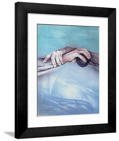 Les mains-Charles Louis La Salle-Framed Limited Edition