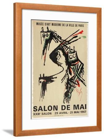 Expo 67 - Salon de Mai-Wilfredo Lam-Framed Premium Edition