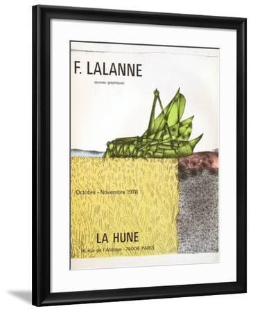 Expo La Hune-Fran?ois-Xavier Lalanne-Framed Collectable Print