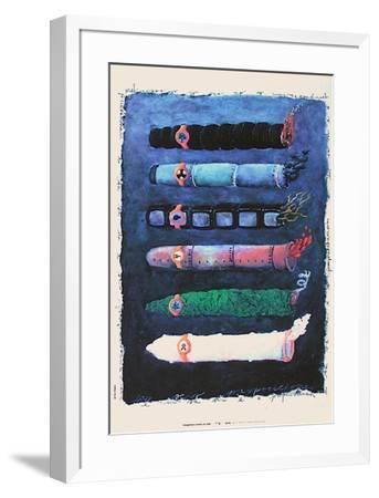 Cigarillos-Elvis Lopez-Framed Collectable Print