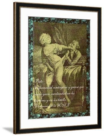 Peste-Eugenio Dittborn-Framed Collectable Print