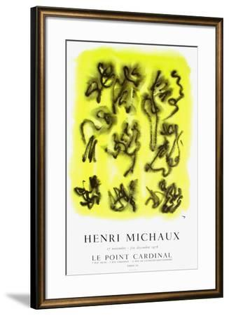 Expo 76 - Le Point Cardinal-Henri Michaux-Framed Collectable Print