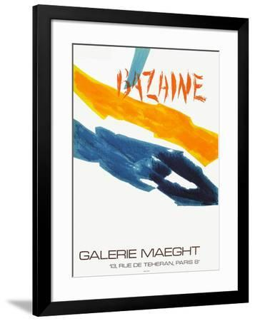 Expo Galerie Maeght 72-Jean Bazaine-Framed Collectable Print