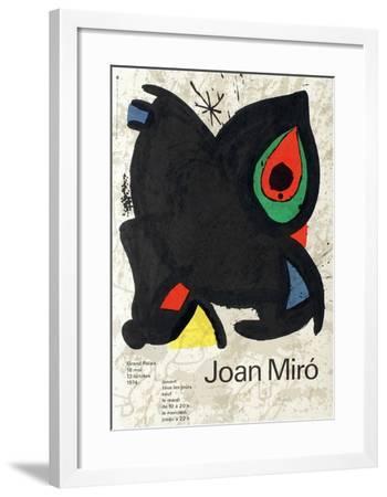 Expo 74 - Grand Palais-Joan Mir?-Framed Collectable Print