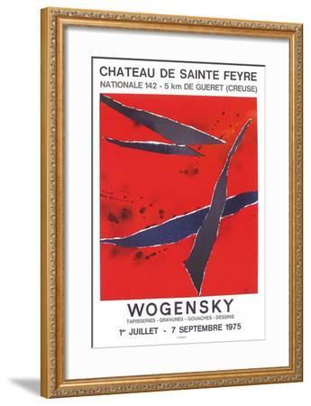 Expo 75 - Château de Sainte Feyre-Robert Wogensky-Framed Collectable Print