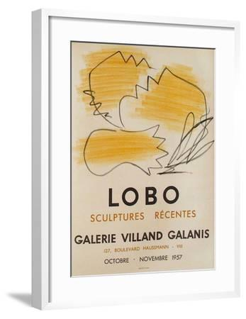 Expo Galerie Villand Galanis 58-Baltasar Lobo-Framed Collectable Print