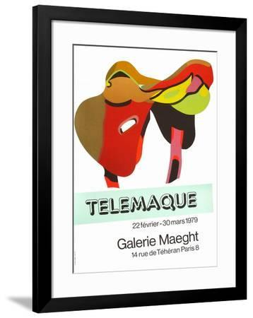 Expo Galerie Maeght 79-Herve Telemaque-Framed Collectable Print
