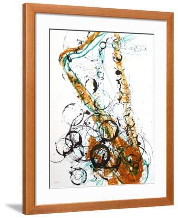 Saxophone I-Fernandez Arman-Framed Limited Edition
