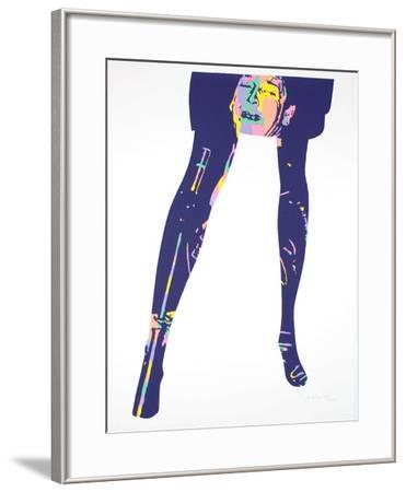 Crazy legs 2-Ivan Messac-Framed Limited Edition