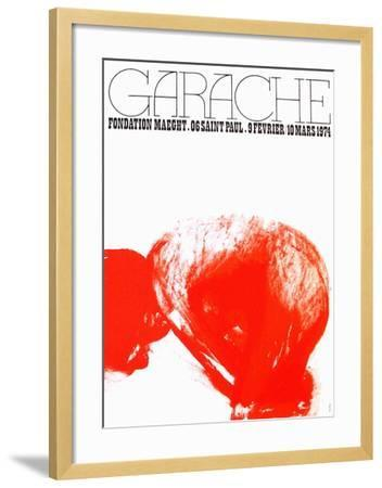 Expo Fondation Maeght-Claude Garache-Framed Collectable Print
