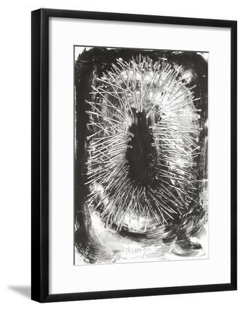 TR9401 - Couronné d'épines au printemps-Jean Messagier-Framed Limited Edition