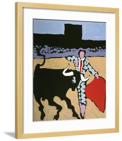 Feria 2-Claude Viallat-Framed Limited Edition