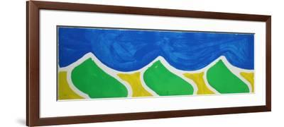 Vague-Claude Viallat-Framed Limited Edition