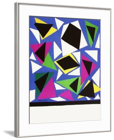Expo 52 - Galerie Kléber (avant la lettre)-Henri Matisse-Framed Premium Edition