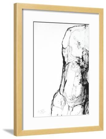 Etude du corps humain 3-Maurice Legendre-Framed Limited Edition