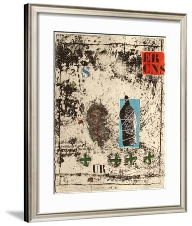 Nous sommes de terre II-James Coignard-Framed Limited Edition