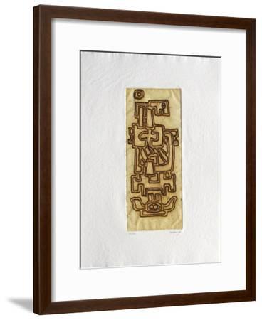 Le coeur au repos III-Jacques Soisson-Framed Limited Edition