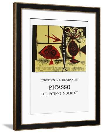 Expo 88 - Collection Mourlot-Pablo Picasso-Framed Collectable Print