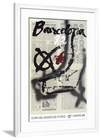 Copa del Mundo de Futbol 82-Antoni Tapies-Framed Collectable Print
