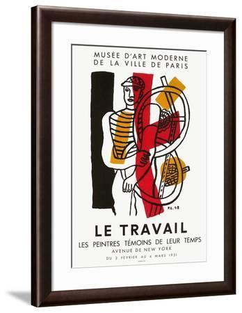 Expo 51 - Les Peintres Témoins de leur Temps-Fernand Leger-Framed Premium Edition