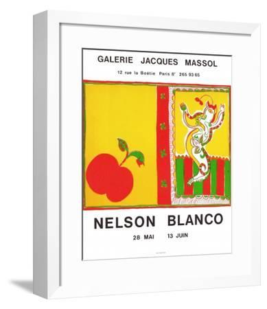 Expo Galerie Jacques Massol-Nelson Blanco-Framed Collectable Print