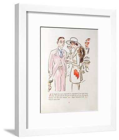 La Révolte des Anges 16-Kees van Dongen-Framed Premium Edition