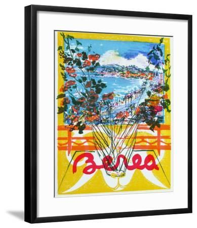 Cannes-Dimitrie Berea-Framed Collectable Print