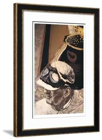 Autoportrait I-Jean Le Gac-Framed Limited Edition