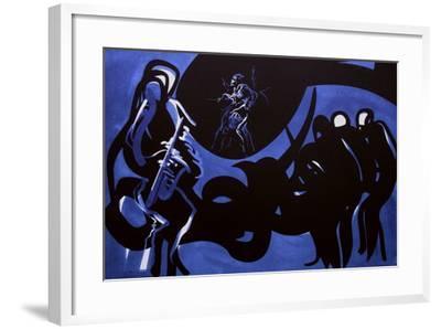 Jazz - Blue note-Raymond Moretti-Framed Limited Edition