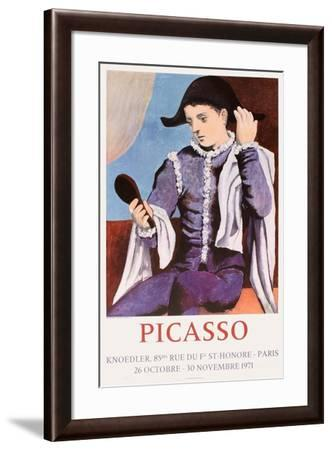 Expo 71 - Galerie Knoedler-Pablo Picasso-Framed Collectable Print