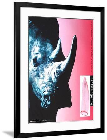L'intelligence-Alain Le Quernec-Framed Collectable Print