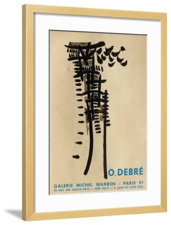 Expo Galerie Michel Warren-Olivier Debre-Framed Collectable Print