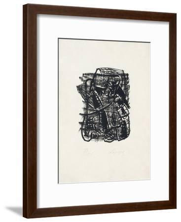 Portraits V : Conversation dans la Beauce-Charles Lapicque-Framed Limited Edition