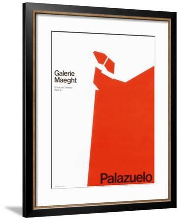 Expo 70 - Galerie Maeght-Pablo Palazuelo-Framed Collectable Print