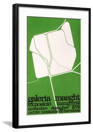 Expo 74 - Galeria Maeght-Pablo Palazuelo-Framed Collectable Print