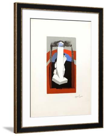 Signe phallique-Dennis Oppenheim-Framed Limited Edition