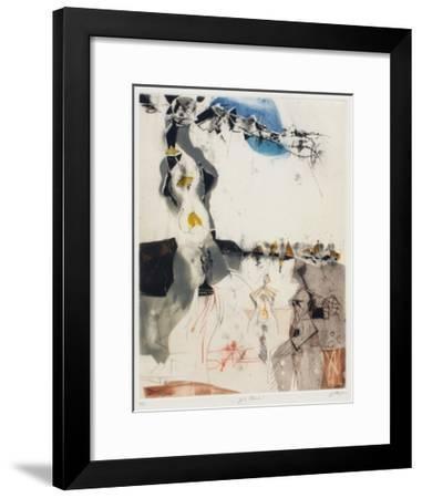 Stehende-Karl Brandst?tter-Framed Limited Edition