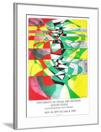 Expo 78 - University of Austin Texas-Stanley William Hayter-Framed Collectable Print
