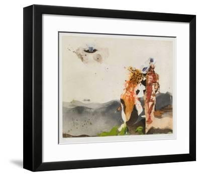 Lune carrée-Karl Brandst?tter-Framed Limited Edition