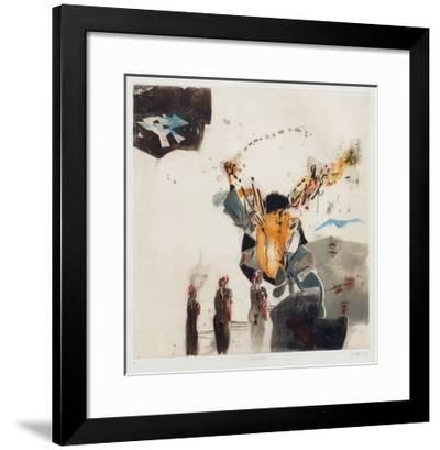 Eingeschlossen-Karl Brandst?tter-Framed Limited Edition