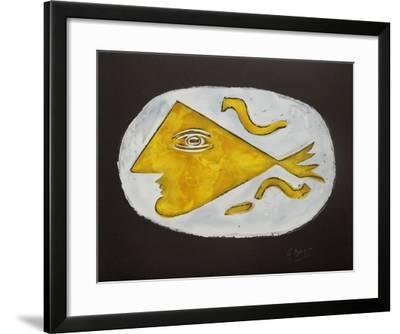 Métamorphoses 01-Georges Braque-Framed Premium Edition