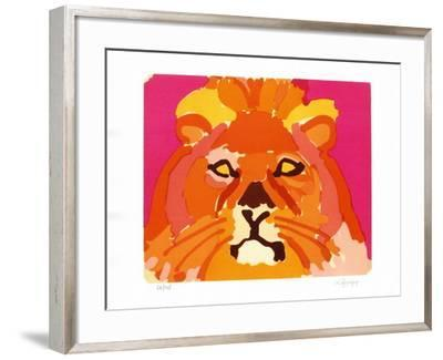 PS - Le lion II-Charles Lapicque-Framed Limited Edition