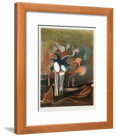 Un rêve méxicain--Framed Limited Edition