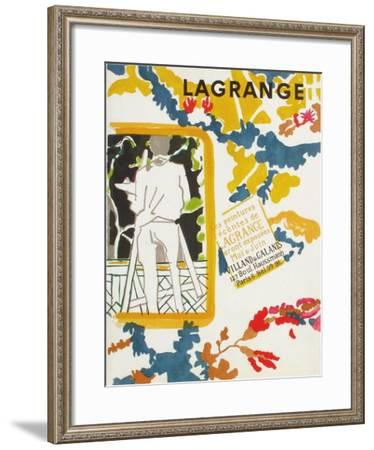 Expo Galerie Villand & Galanis-Jacques Lagrange-Framed Collectable Print