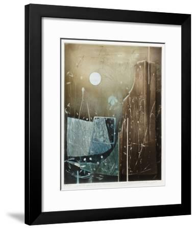 Les pierres de la mémoire--Framed Limited Edition
