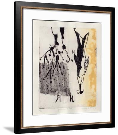 Génération d'Ouest-Richard Texier-Framed Limited Edition