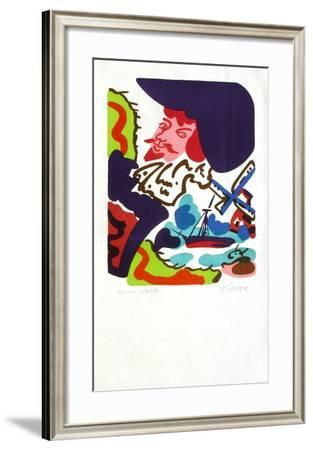 M - Hollande III-Charles Lapicque-Framed Limited Edition